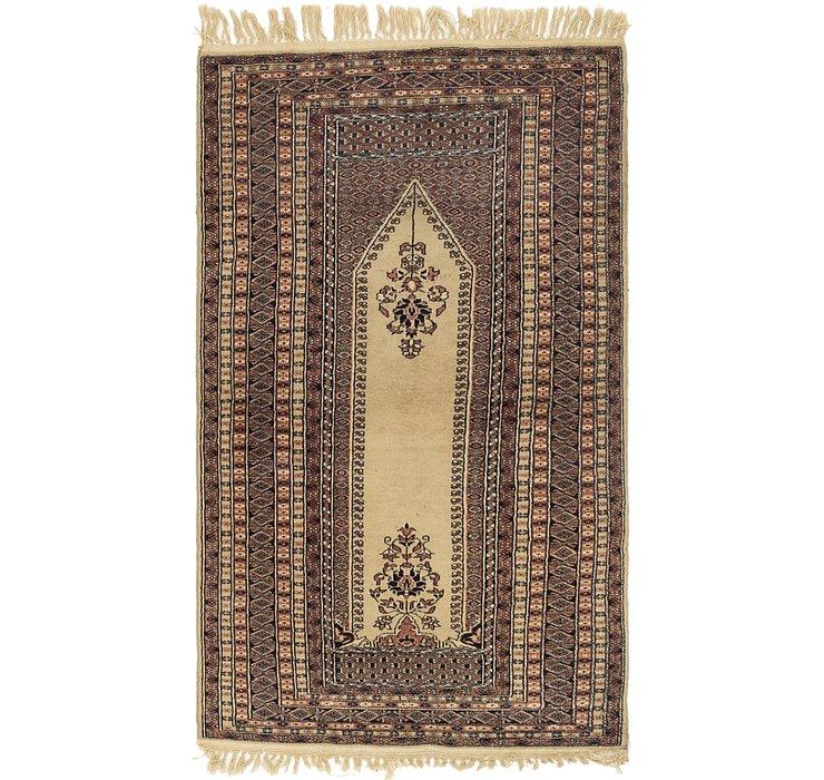 3' x 5' 2 Lahour Oriental Rug