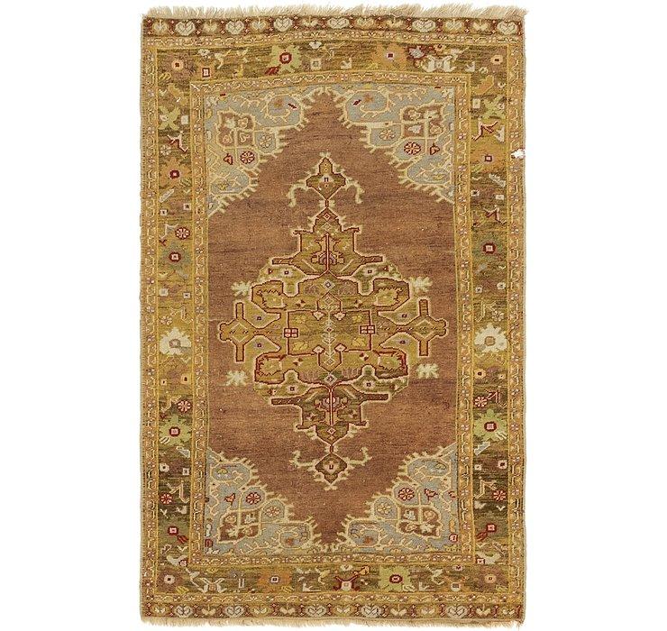 4' x 6' 3 Kars Oriental Rug