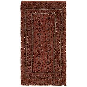 Unique Loom 3' 8 x 6' 8 Balouch Persian Rug