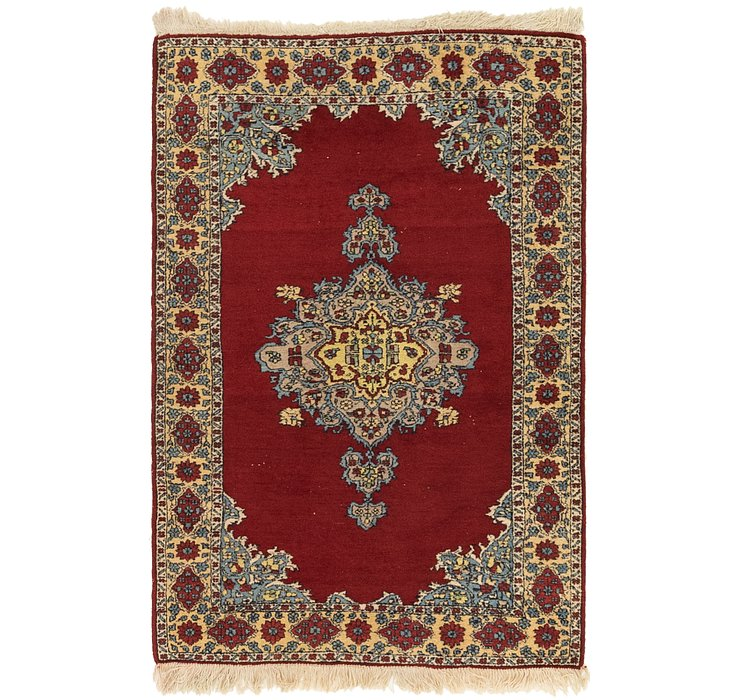 3' 2 x 5' Kerman Persian Rug