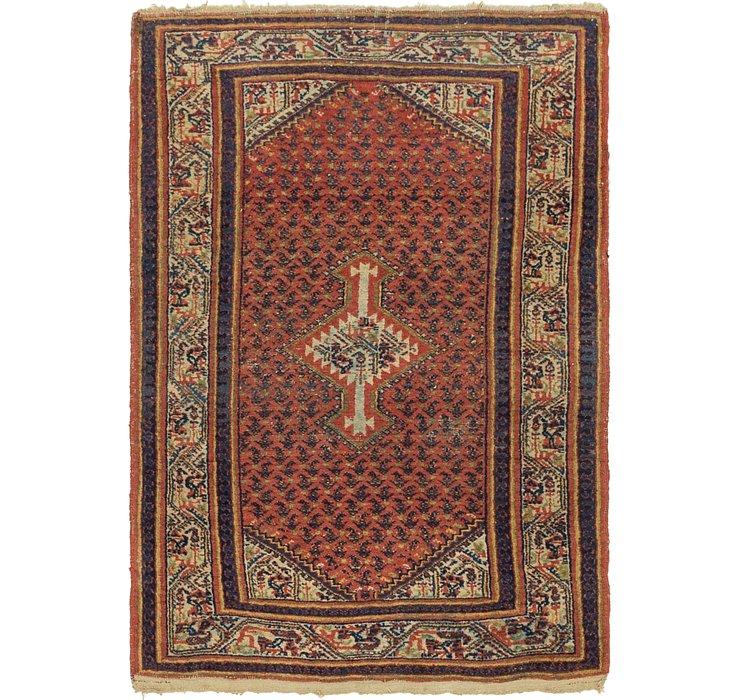 3' 6 x 5' Mahal Persian Rug
