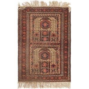 Unique Loom 2' 5 x 3' 5 Shiraz Persian Rug