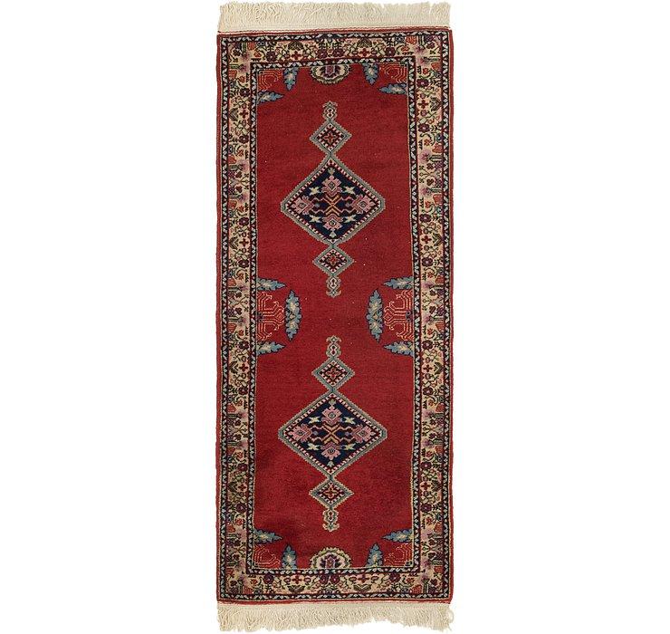 2' 7 x 6' 8 Anatolian Runner Rug