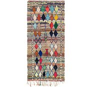 Link to 4' 7 x 9' 10 Moroccan Runner Rug
