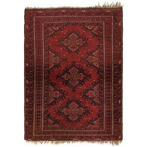 3' 5 x 4' 7 Afghan Ersari Rug