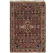 Link to 2' 9 x 4' 2 Hossainabad Persian Rug