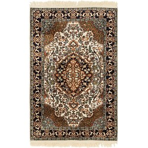 Unique Loom 2' 7 x 4' Kashmir Oriental Rug