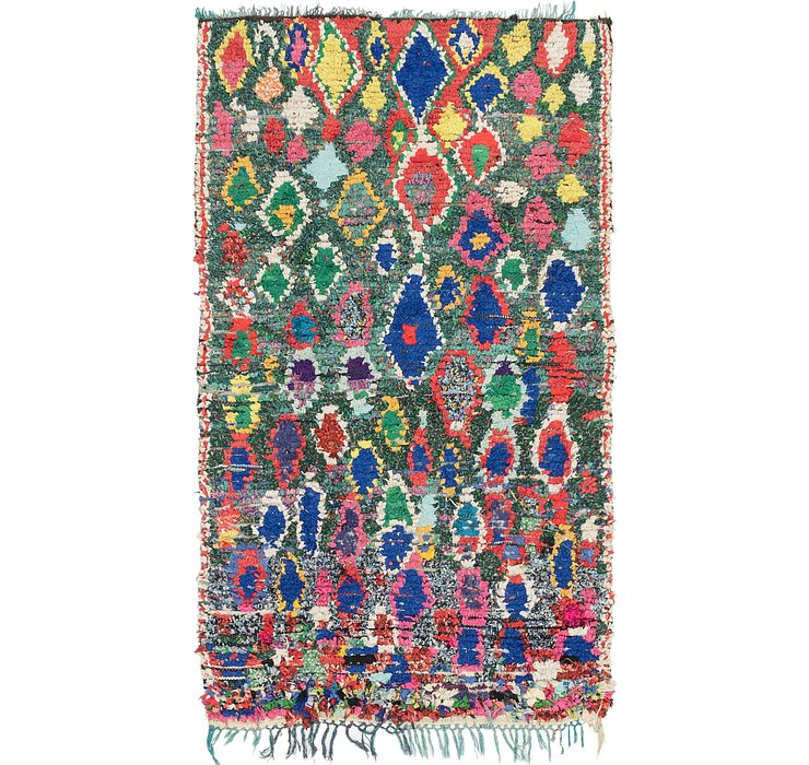 HandKnotted 4' 5 x 7' 6 Moroccan Rug