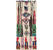 Link to 3' 7 x 8' 8 Moroccan Runner Rug