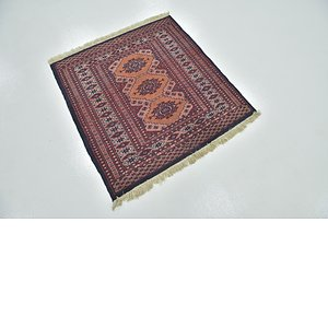 Link to 97cm x 100cm Bokhara Oriental Rug item page