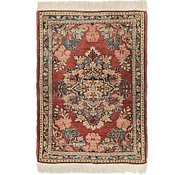 Link to 2' 8 x 3' 9 Meshkabad Persian Rug