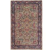 Link to 3' 4 x 5' Kerman Oriental Rug