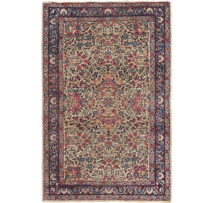 3' 4 x 5' Kerman Oriental Rug