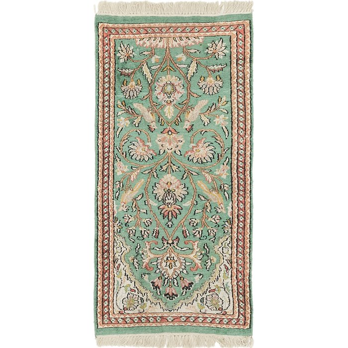 2' x 4' 2 Kashmir Oriental Rug
