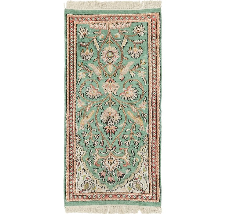 60cm x 127cm Kashmir Oriental Rug