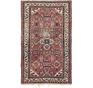 Link to 2' 8 x 4' 6 Hossainabad Persian Rug