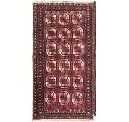 Link to 2' 8 x 4' 9 Torkaman Persian Rug