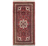 Link to 2' 4 x 4' 8 Hossainabad Persian Rug