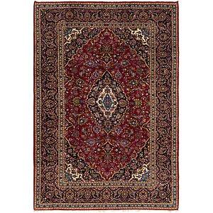 7' 10 x 11' 4 Kashan Persian Rug