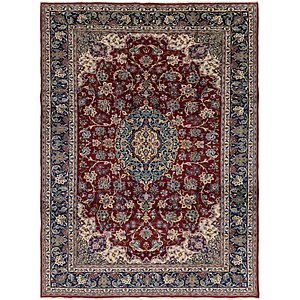 HandKnotted 10' x 13' 6 Isfahan Persian Rug