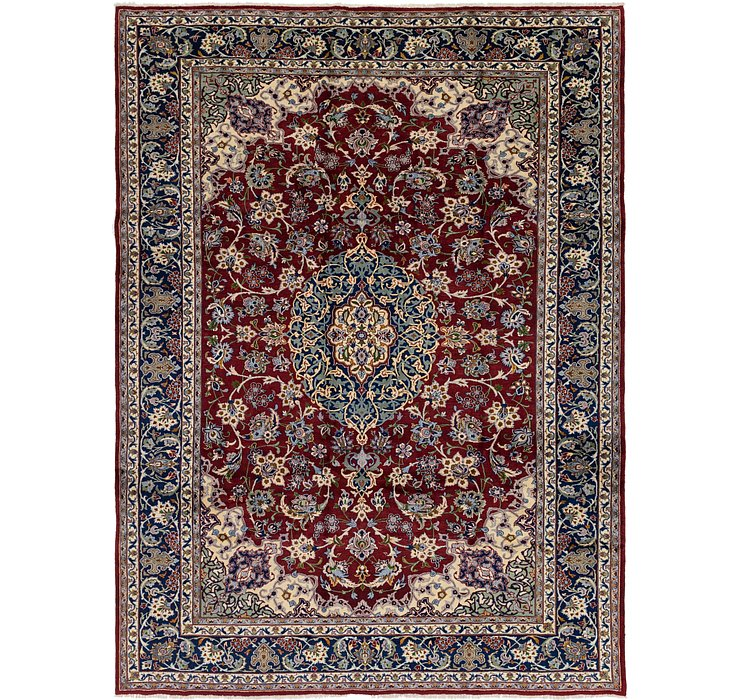 10' x 13' 6 Isfahan Persian Rug