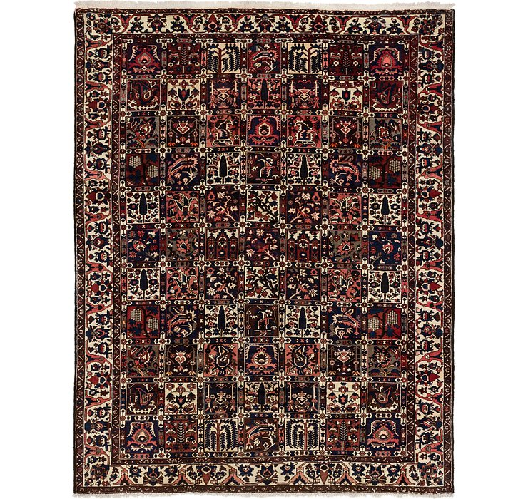 275cm x 348cm Bakhtiar Persian Rug