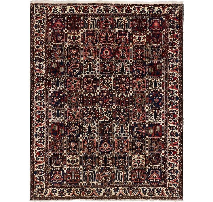 9' x 11' 5 Bakhtiari Persian Rug