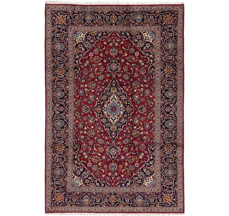 7' 10 x 11' 8 Kashan Persian Rug