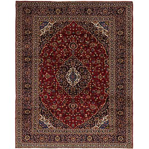 Link to 305cm x 375cm Kashan Persian Rug page