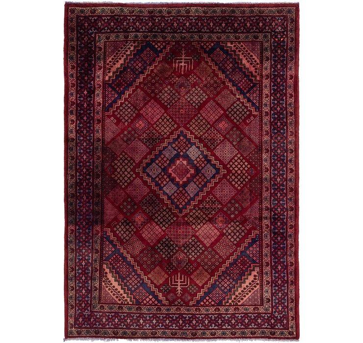 6' 10 x 9' 7 Maymeh Persian Rug
