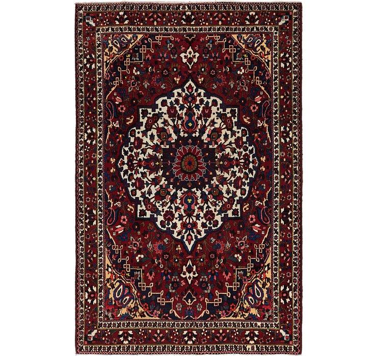 7' x 10' 7 Bakhtiari Persian Rug