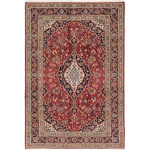 203cm x 297cm Kashan Persian Rug