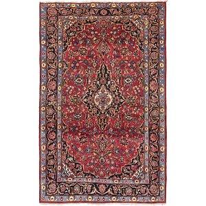 5' x 7' 10 Kashan Persian Rug