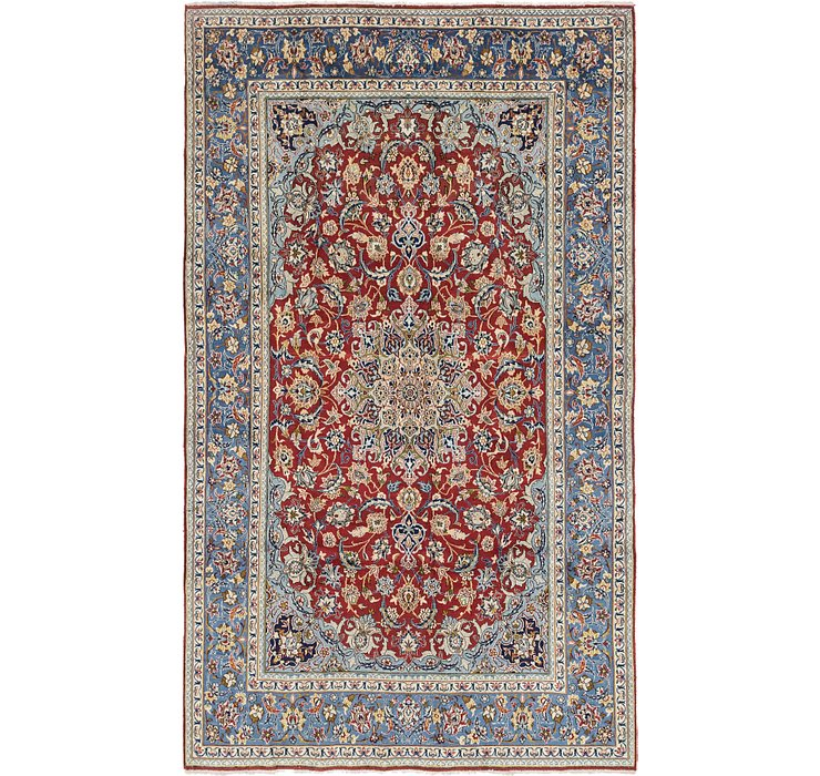 6' 4 x 11' Isfahan Persian Rug