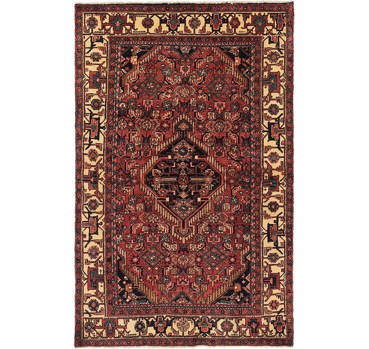 4' 6 x 7' Darjazin Persian Rug