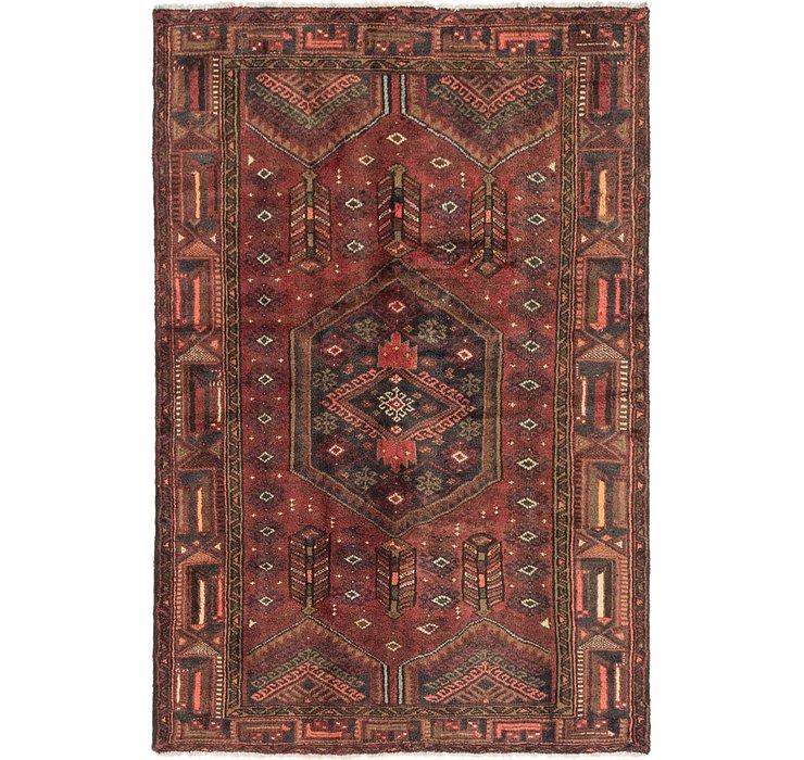 4' 3 x 6' 4 Zanjan Persian Rug