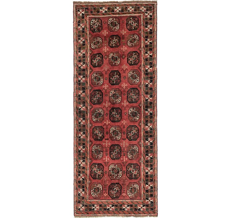 4' x 9' 8 Shiraz Persian Runner Rug