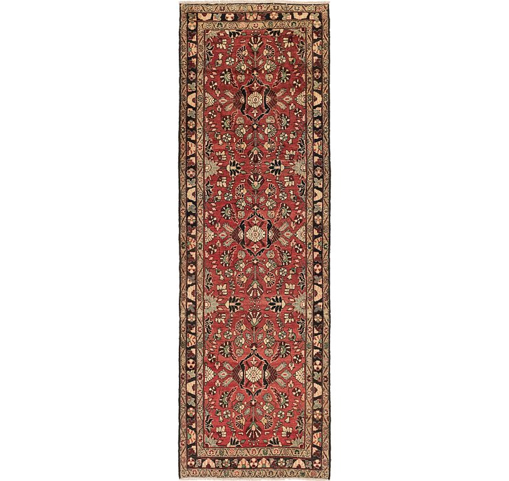 3' 9 x 12' Khamseh Persian Runner ...