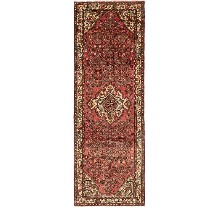 110cm x 310cm Hossainabad Persian Run...