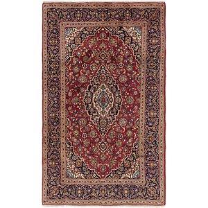 6' 6 x 10' 9 Kashan Persian Rug