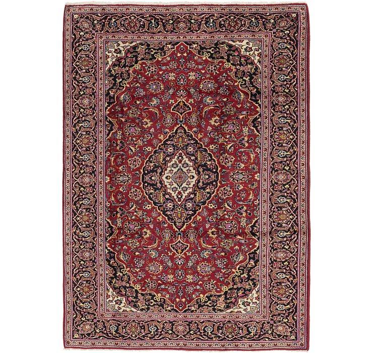 7' x 10' 5 Kashan Persian Rug