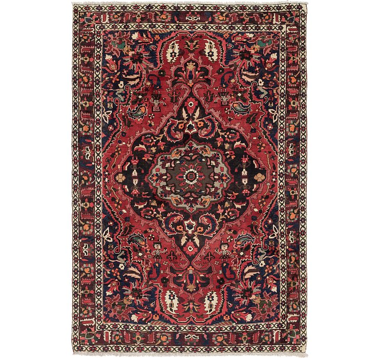 7' x 10' 2 Bakhtiar Persian Rug