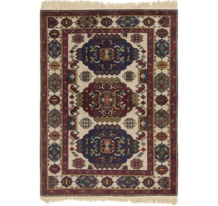 100cm x 137cm Ardabil Persian Rug