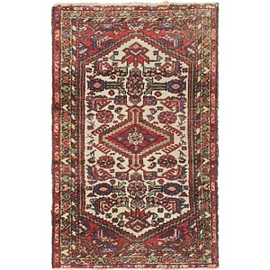 2' 6 x 3' 10 Gharajeh Persian Rug