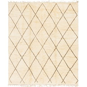 11' 3 x 13' Moroccan Square Rug