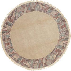 9' x 9' Nepal Round Rug