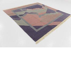 7' 9 x 8' 2 Nepal Square Rug