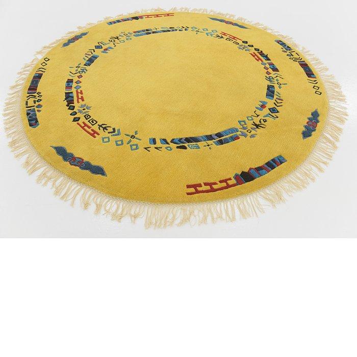 6' 9 x 6' 10 Nepal Round Rug