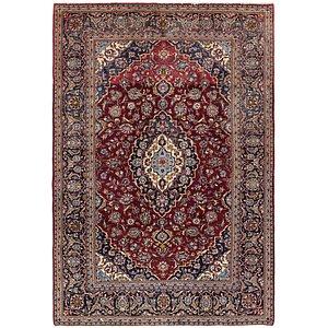 Unique Loom 6' 6 x 9' 5 Kashan Persian Rug