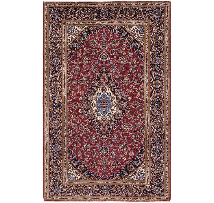 205cm x 335cm Kashan Persian Rug